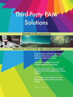 Third-Party PAM Solutions Standard Requirements