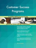 Customer Success Programs Complete Self-Assessment Guide