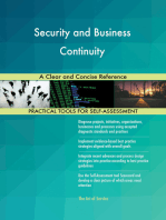 Security and Business Continuity A Clear and Concise Reference