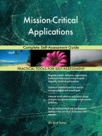 Mission-Critical Applications Complete Self-Assessment Guide