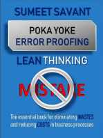 Poka Yoke Error Proofing: Lean Thinking, #5
