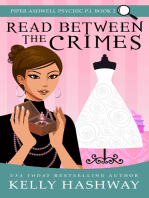 Read Between the Crimes (Piper Ashwell Psychic P.I. #2)