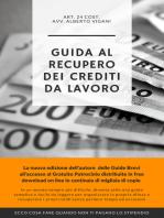 """Guida Breve al """"Recupero Crediti"""" da rapporto di lavoro"""