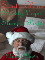 Santa Claus Barely Legal Slumber Party