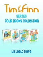 Tim and Finn the Dragon Twins Series Four-Book Collection