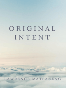 Original Intent: What did God have in mind when He created us?!