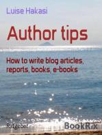Author tips