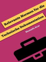 Relevante Normen für die Technische Dokumentation