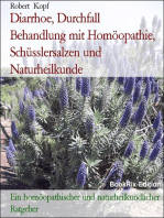 Diarrhoe, Durchfall - Behandlung mit Homöopathie, Schüsslersalzen (Biochemie) und Naturheilkunde