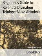 Beginner's Guide to Kolanuts Divination