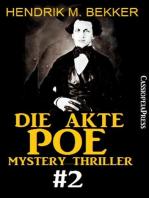 Die Akte Poe #2 - Mystery Thriller