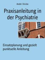Praxisanleitung in der Psychiatrie