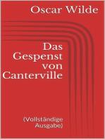Das Gespenst von Canterville (Vollständige Ausgabe)