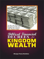 BIBLICAL FINANCIAL DECREES FOR KINGDOM WEALTH