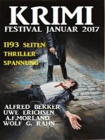 Krimi Festival Januar 2017