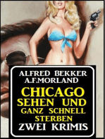 Chicago sehen und ganz schnell sterben
