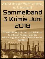 Sammelband 3 Krimis Juni 2018