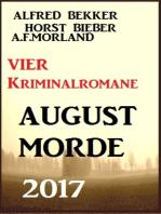 Vier Kriminalromane