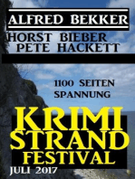 Krimi Strand Festival Juli 2017