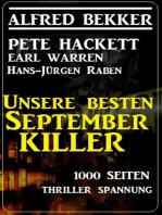 Unsere besten September-Killer - 1000 Seiten Thriller Spannung