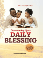 COMMANDING YOUR DAILY BLESSING