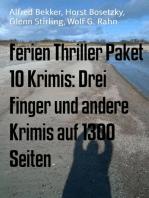 Ferien Thriller Paket 10 Krimis