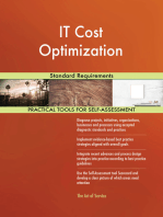 IT Cost Optimization Standard Requirements