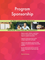 Program Sponsorship A Clear and Concise Reference