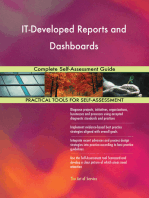 IT-Developed Reports and Dashboards Complete Self-Assessment Guide