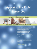 Applying the Right Resources Complete Self-Assessment Guide