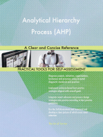 Analytical Hierarchy Process (AHP) A Clear and Concise Reference