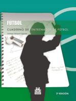 Cuaderno del entrenador de fútbol