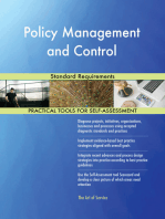 Policy Management and Control Standard Requirements