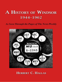 A History of Windsor 1944–1962: As Seen Through the Pages of The News-Weekly