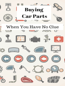 Buying Car Parts: When You Have No Clue