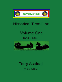 Royal Marines Historical Time Line, Volume One. Third Edition.