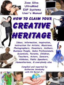 How to Claim Your Creative Heritage, Jose Silva UltraMind Systems User's Manual