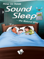 How To Have Sound Sleep - The Natural Way