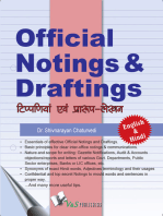 Official Noting & Drafting