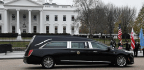 At The Bush Funeral, Respect And Human Emotion Trump Politics