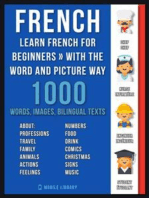 French - Learn French for Beginners - With the Word and Picture Way
