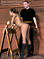 Wendy's Woodshed Whipping (Spanked in Her Little Red Panties)