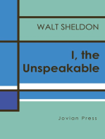 I, the Unspeakable