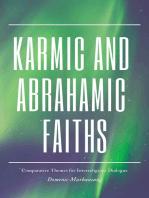 Karmic and Abrahamic Faiths