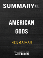 Summary of American Gods