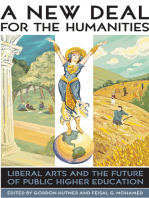A New Deal for the Humanities