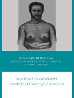 Hermaphroditism, Medical Science and Sexual Identity in Spain, 1850-1960