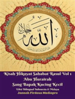 Kisah Hikayat Sahabat Rasul Vol 1 Abu Hurairah Sang Bapak Kucing Kecil Edisi Bilingual Indonesia & Melayu