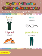 My First Albanian Clothing & Accessories Picture Book with English Translations