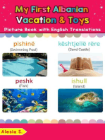 My First Albanian Vacation & Toys Picture Book with English Translations